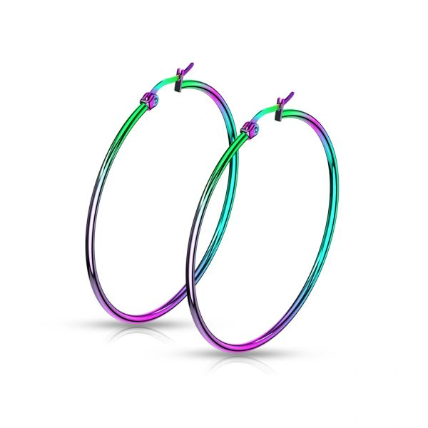 50MM Anodized Hoops