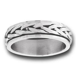 Braided Spinner Ring