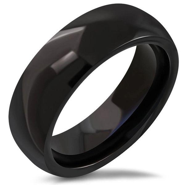 Black Band 1/2 Round