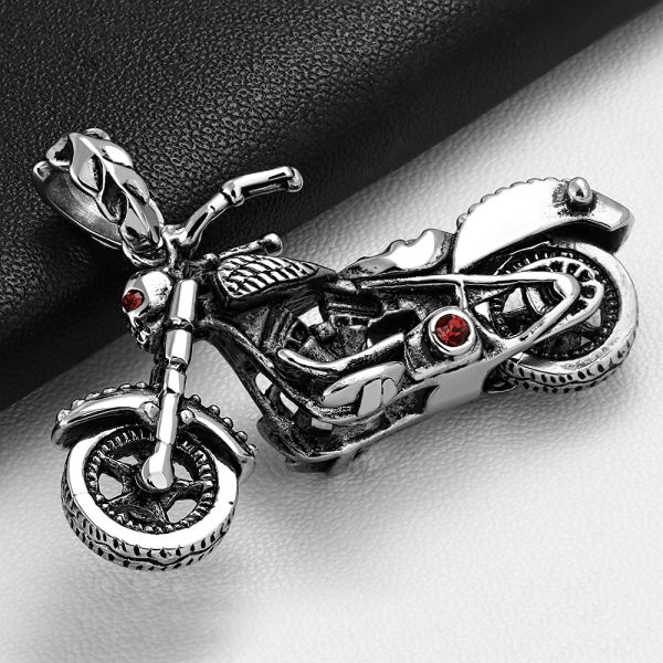 Motorcycle W/ Red CZ