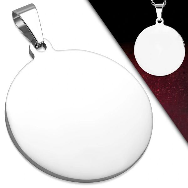 Round Engravable Disk