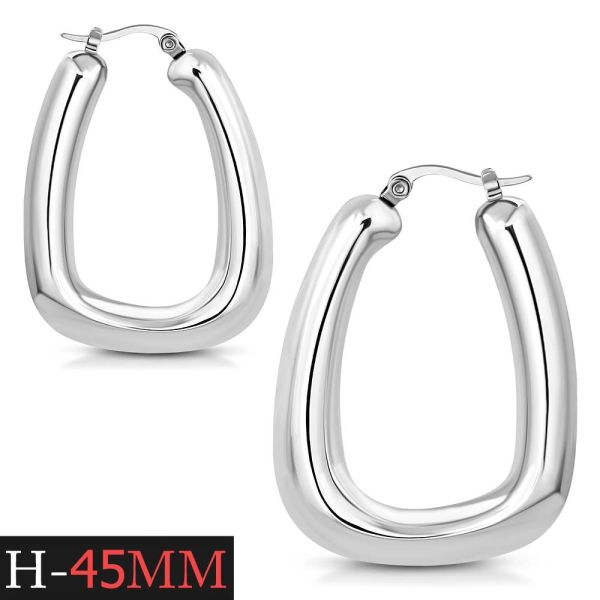 Squared Hoops 45MM