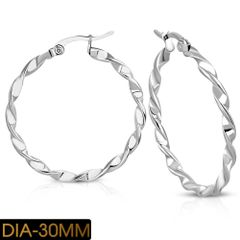 35MM Twisted Hoops