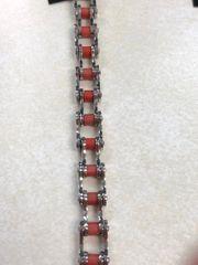 9mm Red Bike Chain