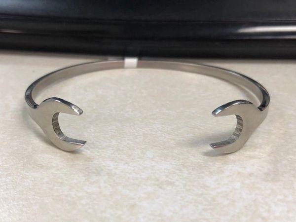 Wrench Cuff Bracelet