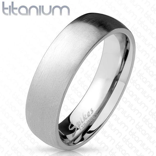 Brushed Titanium Band
