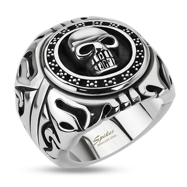 Skull Shield Ring