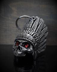 Indian Skull Gremlin Bell W/ Eyes 3D