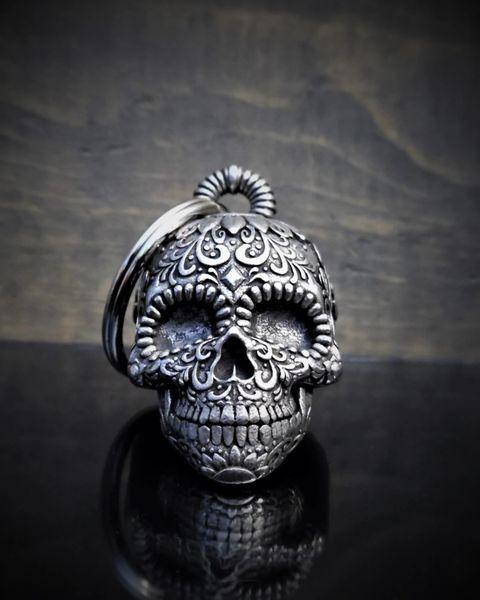 Sunflower Sugar Skull 3D