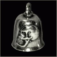 Skull Sideview Gremlin Bell