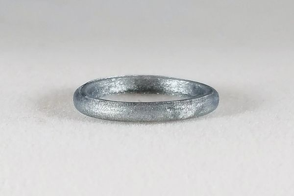 PLAIN SILVER STACKABLE RING