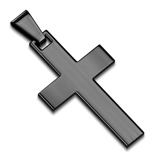 SIMPLE CROSS BLACK