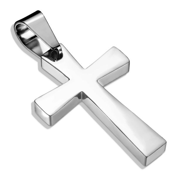 LATIN CROSS STAINLESS STEEL