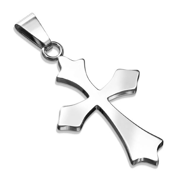 CELTIC CROSS STAINLESS STEEL