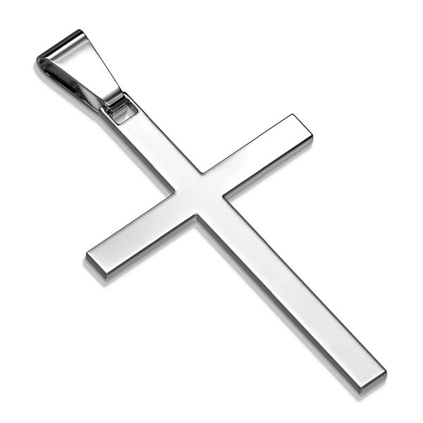 SLIM CROSS STAINLESS STEEL