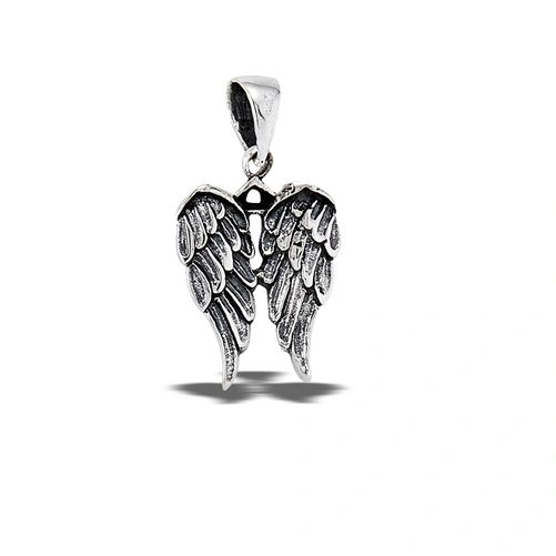 DOUBLE ANGEL WING PENDANT
