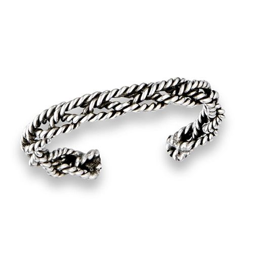 INTERWOVEN TOE RING