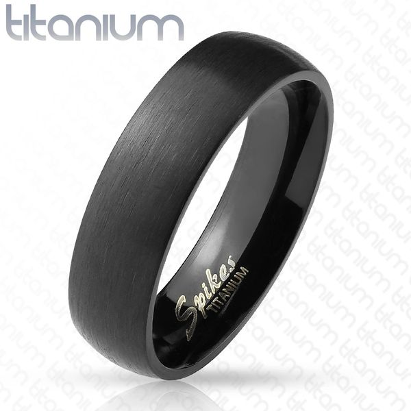 Black Titanium Domed