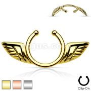 ANGEL WING NIPPLE CLIP