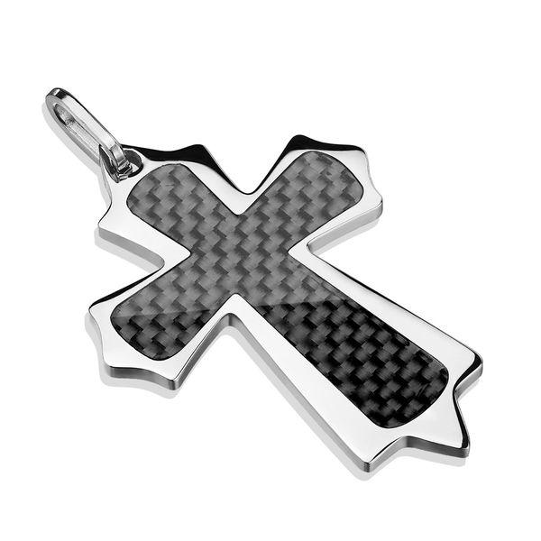 Carbon Fiber Celtic Cross