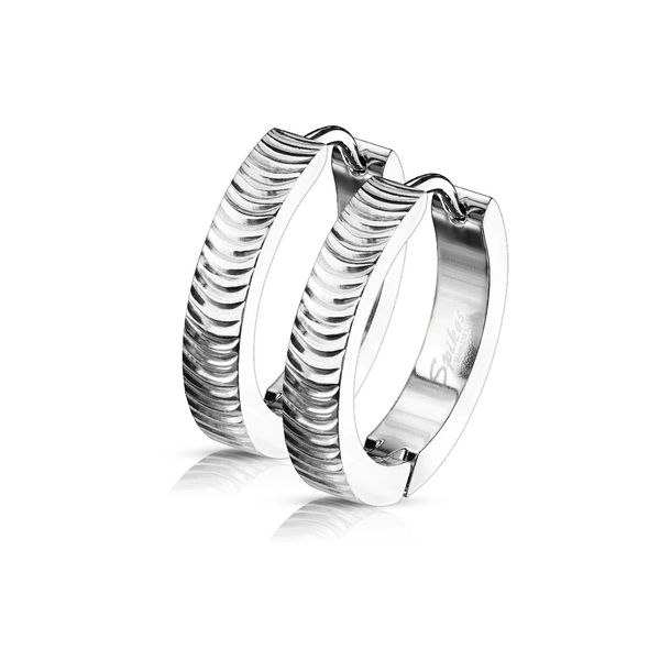 STAINLESS GROOVED HOOPS