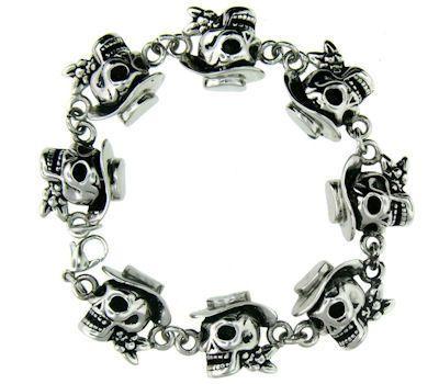 Skull Cowboy Bracelet