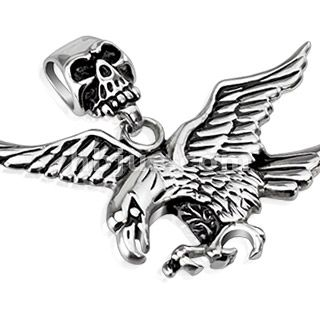 Eagle with Skull Bail