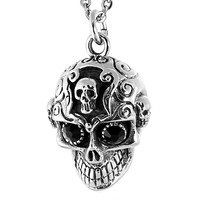 Skull in Skull w/ Black Stone Eyes