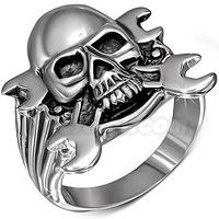 Skull w/ Wrenches