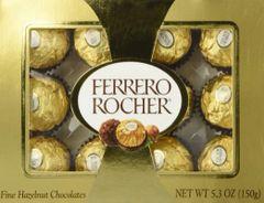 Ferrero Rocher Fine Hazelnut Chocolate 5.3oz - can02