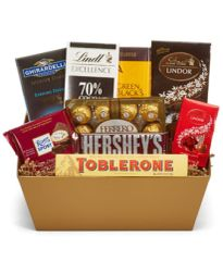 Chocolate Lover's Basket - can04