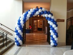 Small balloon arch - bal11