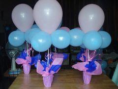 Centerpiece balloons table - bal17