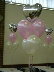 Centerpiece balloon table 1 myler & 4 latex - bal26