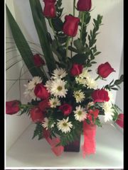 1 dz red rose - val66