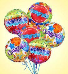 Congratulations Balloon - plu06