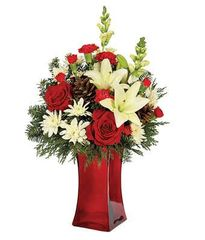 Rustic Holiday Bouquet - chr10