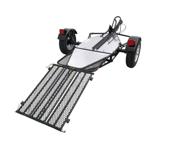 Single Rail Motorcycle Trailer Tow Smart Trailers Car Tow Dolly