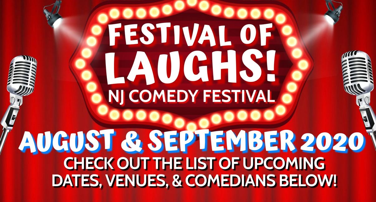 FESTIVAL OF LAUGHS NJ