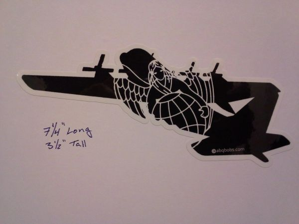 C-130 Rescue Angle Air Force Combat Rescue CSAR Vinyl Window Sticker