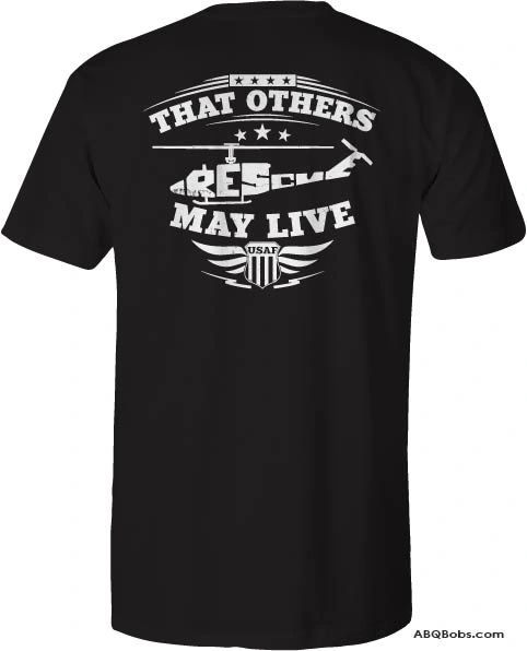 UH-1N Rescue T-Shirt Several Colors to Choose From