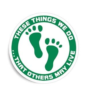 Green Feet These Things We Do That Others May Live Air Force USAF Combat Rescue CSAR Vinyl Window Sticker