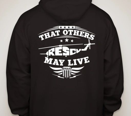 Black Hoodie - That Others May Live H-53