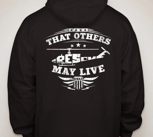Black Hoodie - That Others May Live UH-1N