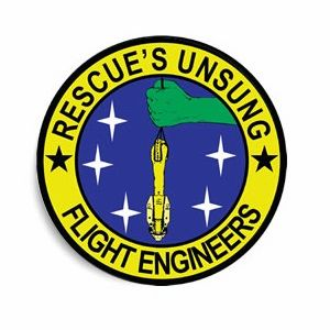 Rescue's Unsung Flight Engineers Sticker