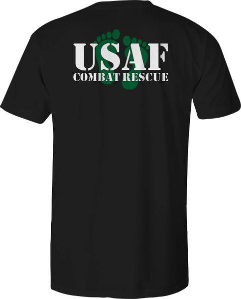 USAF Green Feet Combat Rescue Shirt