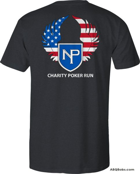 Pre-order Nation of Patriots NV, Charity Poker Run T-Shirt