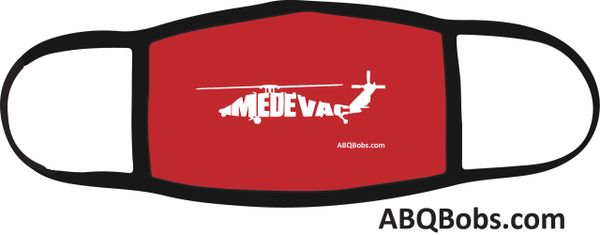 Medevac Helicopter Face Mask