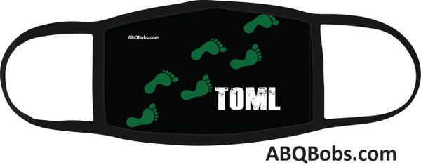 TOML Green Feet Running Face Mask