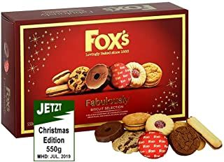 Foxes Fabulously.......Cookie Selection - 550g